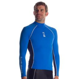 Fourth Element Hydroskin Mens Long Sleeve Royal Blue