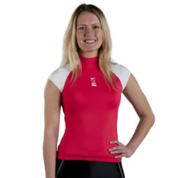 Fourth Element Hydroskin Womens Capped Sleeve Coral White